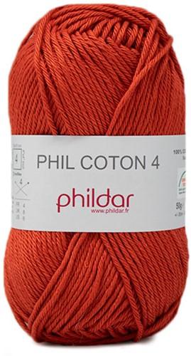 Phildar Phil Coton 4 2396 Carotte