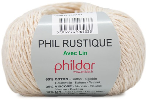 Phildar Phil Rustique 2397 Ivory