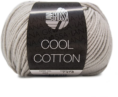 Lana Grossa Cool Cotton 23 Grége