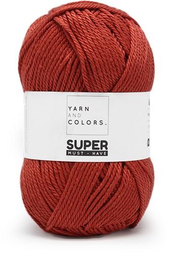 Yarn and Colors Bobbles Comfy Cushion Haakpakket 023 Brick