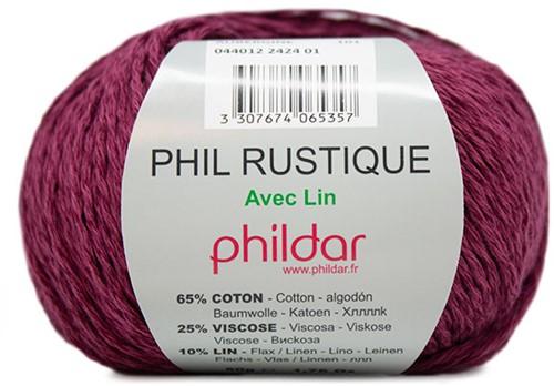 Phildar Phil Rustique 2424 Aubergine