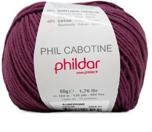 Phildar Phil Cabotine 2424 Aubergine