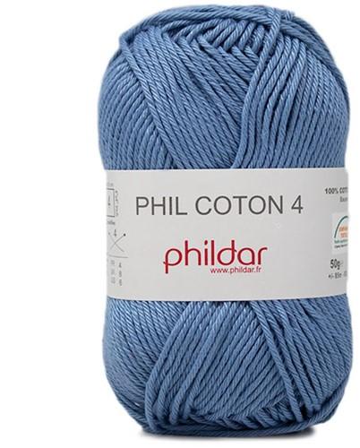 Phildar Phil Coton 4 2433 Océan