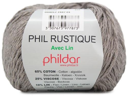 Phildar Phil Rustique 2447 Poivre
