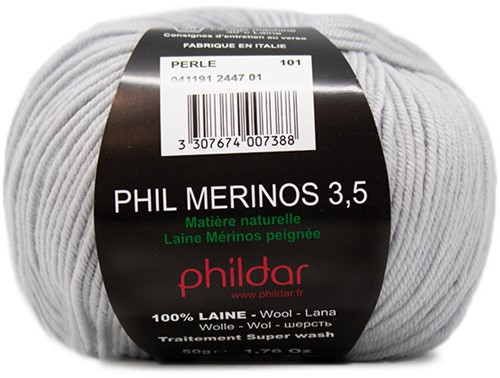 Phildar Phil Merinos 3.5 2447 Perle