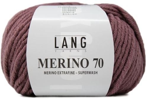 Lang Yarns Merino 70 248 Old Pink