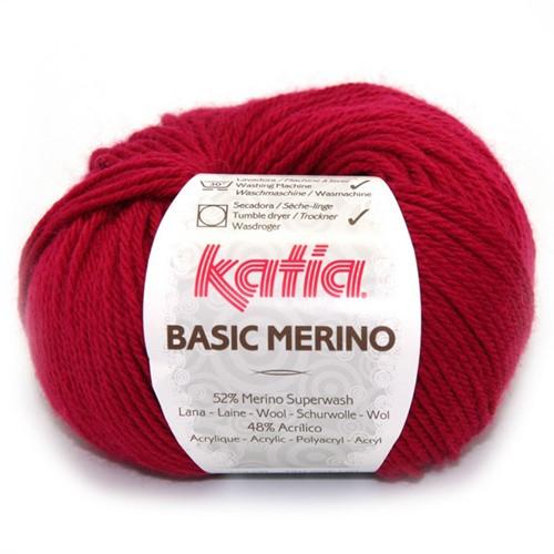 Katia Basic Merino 24 Dark Fuchsia