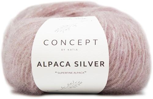 Katia Alpaca Silver 252 Light pink silver