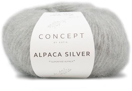 Katia Alpaca Silver 255 Light grey silver