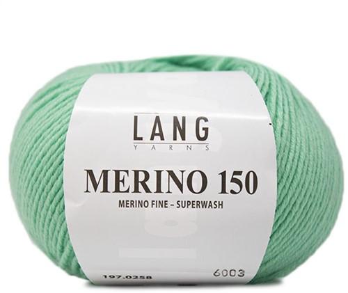 Lang Yarns Merino 150 258 Pistachio