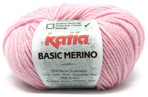 Katia Basic Merino 25 Rose