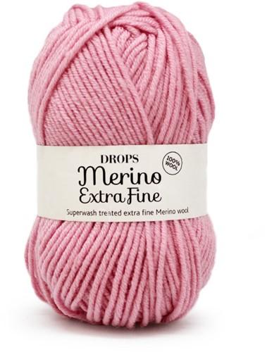 Drops Merino Extra Fine Uni Colour 25 Roze