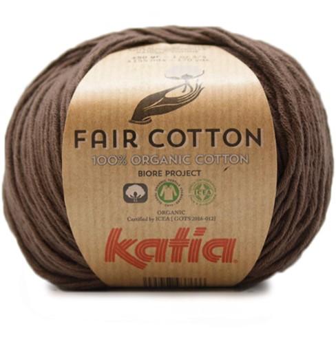 Katia Fair Cotton 25 Brown