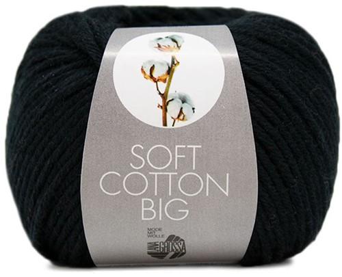 Lana Grossa Soft Cotton Big 25 Black