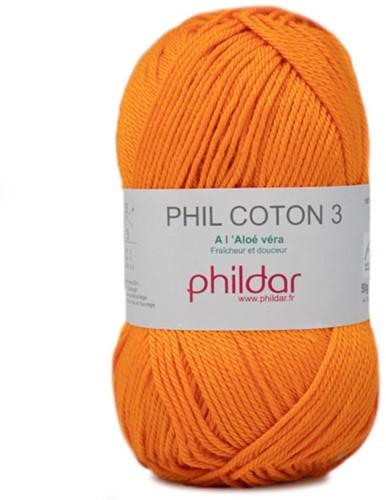 Phildar Phil Coton 3 2740 Mandarine