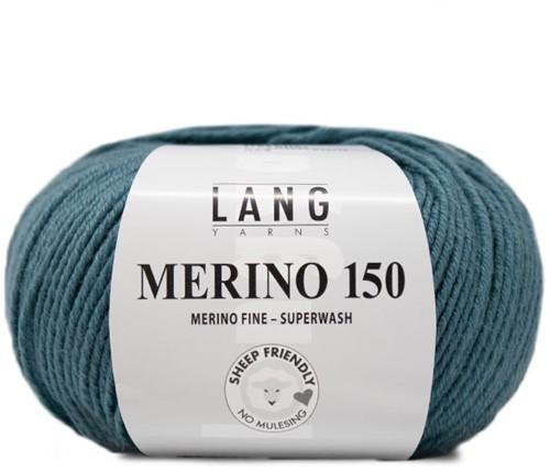 Lang Yarns Merino 150 274 Atlantic