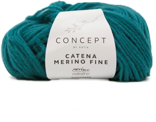 Katia Catena Merino Fine 277 Green blue