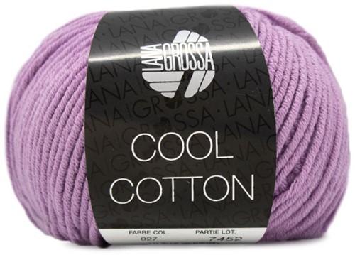 Lana Grossa Cool Cotton 27 Purple