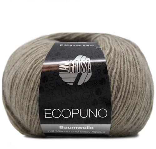 Ecopuno Ajourtop Breipakket 1 44 Khaki