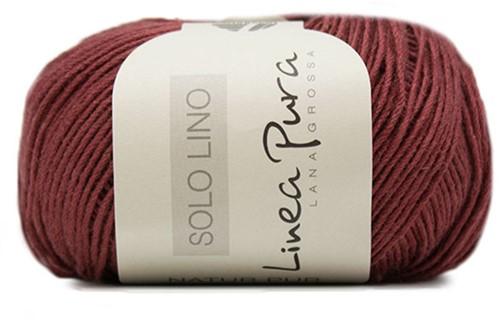 Lana Grossa Solo Lino 027 Burgundian
