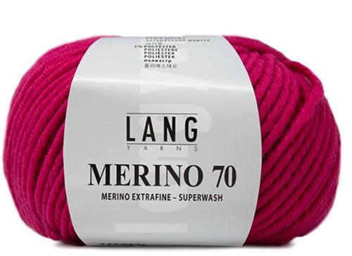 Lang Yarns Merino 70 285 Pink