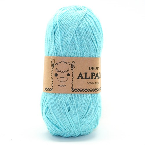 Drops Alpaca Uni Colour 2917 Turkoois