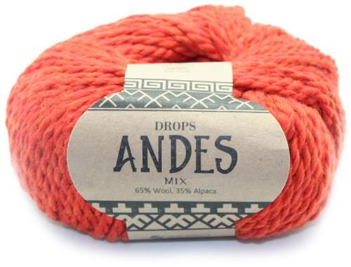 Drops Andes Mix 2920 Oranje