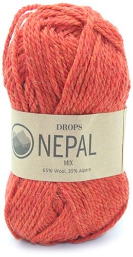 Drops Nepal Mix 2920 Oranje