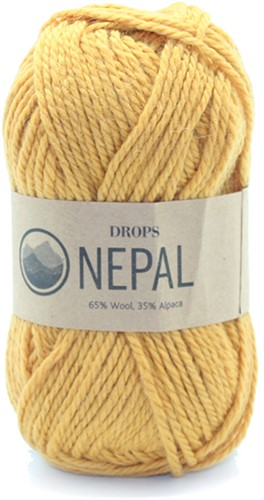 Drops Nepal Uni Colour 2923 Oker