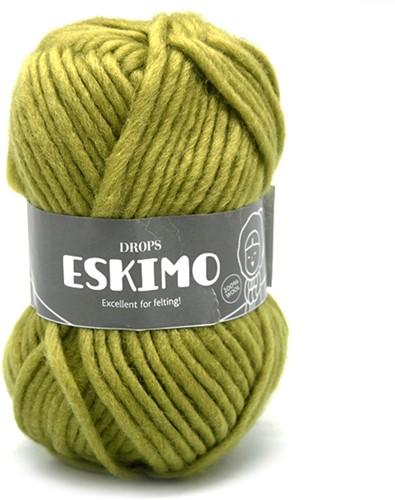 Drops Eskimo Uni Colour 29 Green-yellow