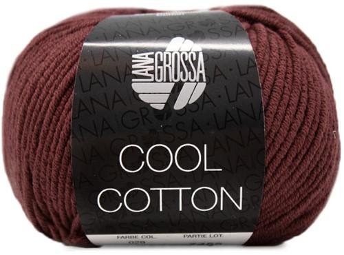 Lana Grossa Cool Cotton 29 Burgundian