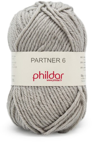 Phildar Partner 6 1462 Brume