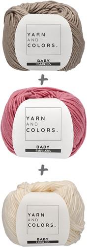 Yarn and Colors Spring Flowers Tee Haakpakket L 2 Clay