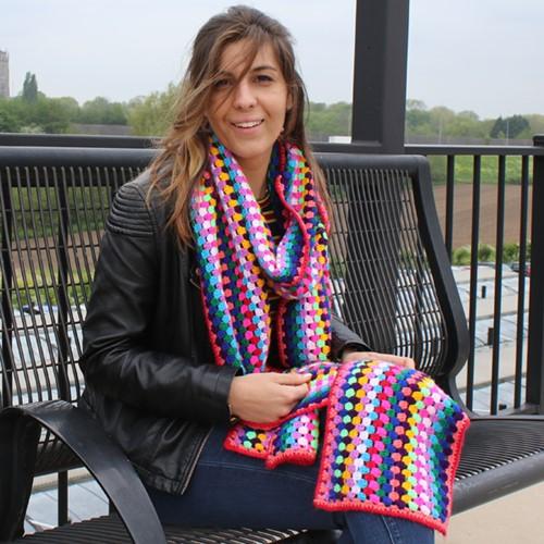 Stylecraft sjaal haakpakket
