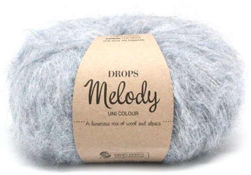 Drops Melody Uni Colour 02 Fog