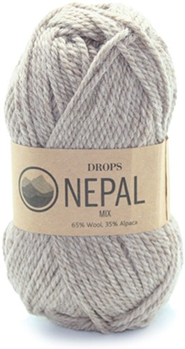 Drops Nepal Mix 300 Beige
