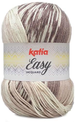 Katia Easy Jacquard 302 Brown/Beige