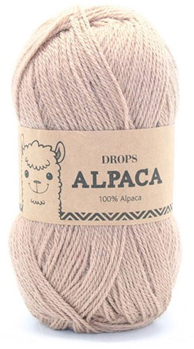 Drops Alpaca Uni Colour 302 Camel