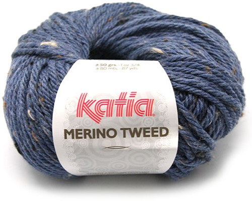 Katia Merino Tweed 305 Dark blue