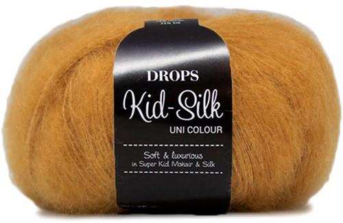Drops Kid-Silk Uni Colour 30 Curry