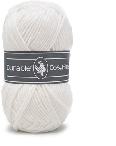 Durable Cosy Fine 310 White