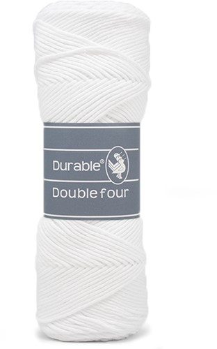 Durable Double Four 310 White