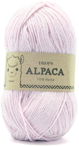 Drops Alpaca Uni Colour 3112 Zacht-roze