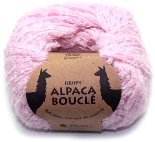 Drops Alpaca Bouclé Uni Colour 3125 Lichtroze