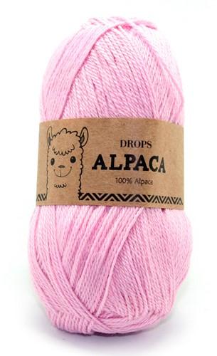 Drops Alpaca Uni Colour 3140 Lichtroze
