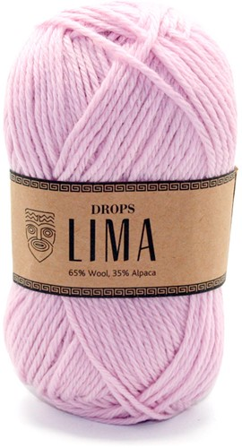 Drops Lima Uni Colour 3145 Poederroze