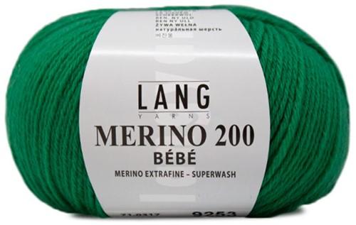 Lang Yarns Merino 200 Bebe 317 Green