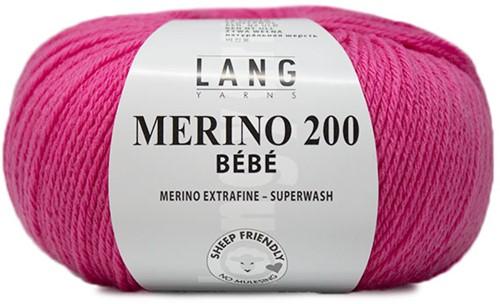 Lang Yarns Merino 200 Bebe 319 Pink