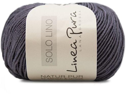 Lana Grossa Solo Lino 031 Purple/Grey