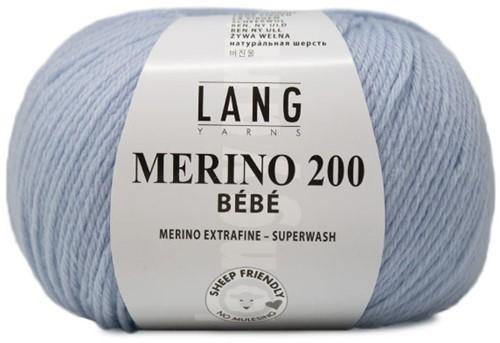 Lang Yarns Merino 200 Bebe 320 Ciel
